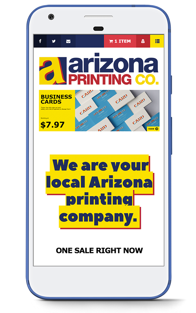 The Arizona Printing Company - Web Design, Branding, E-Commerce, Strategy in Phoenix, AZ